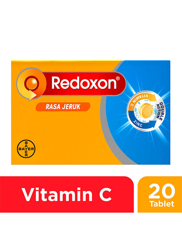 main mobile picture for NEW REDOXON EFF Zinc Orange 20 Tablet