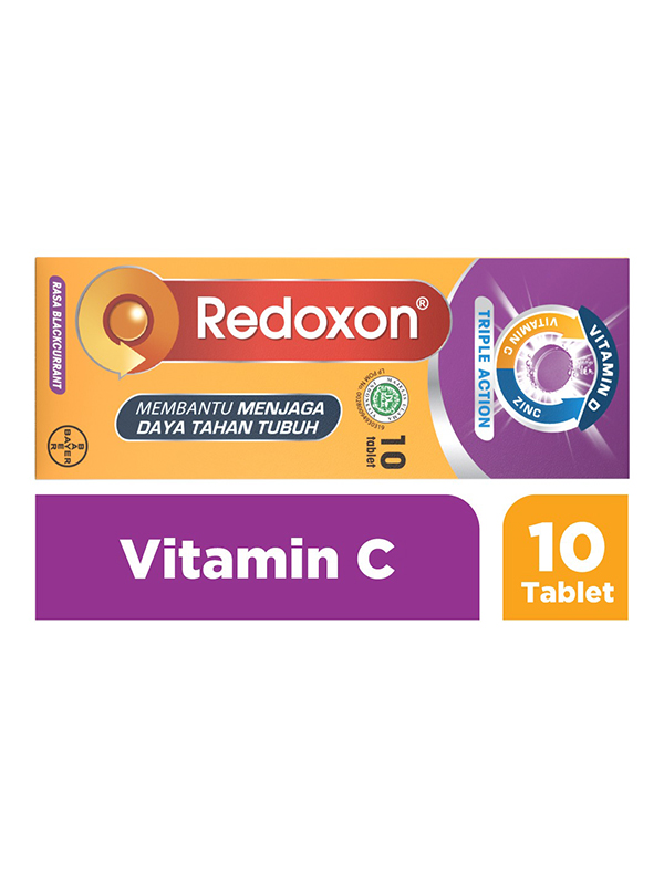 one gallery picture for [NEW REDOXON] EFF Zinc Blackcurrant 10 Tablet