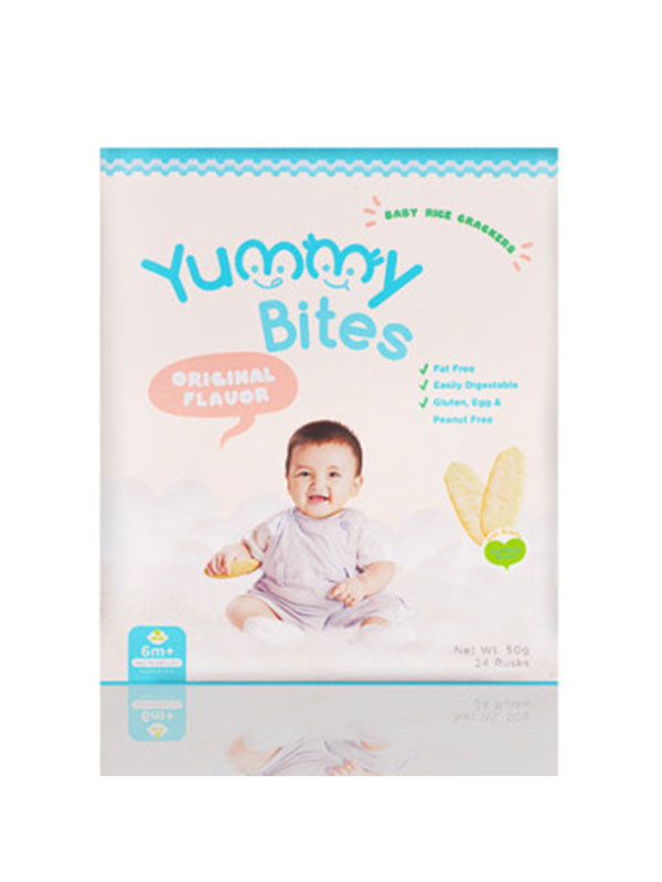 one gallery picture for [YUMMY BITES] Crackers 50gr - Makanan Bayi
