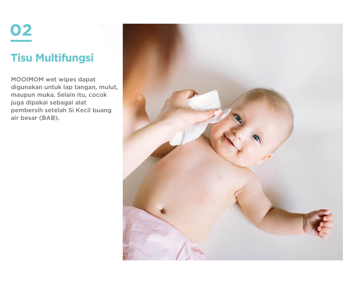 tisu bayi multifungsi