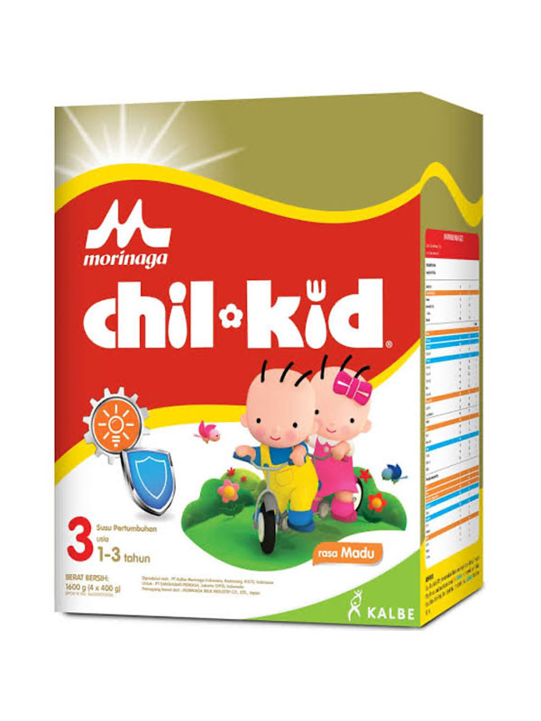 one gallery picture for MORINAGA Chil Kid Gold 800gr Madu 1-3T