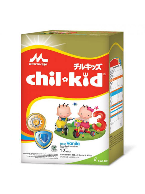 one gallery picture for MORINAGA Chil Kid Gold 800gr Vanilla 1-3T