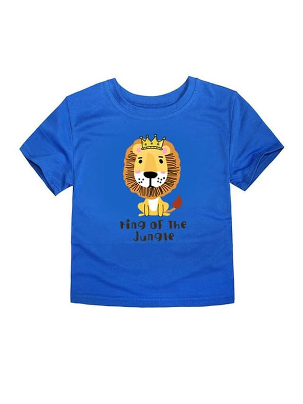 one gallery picture for LITTLE FRESCO T-Shirt Anak King Of Jungle