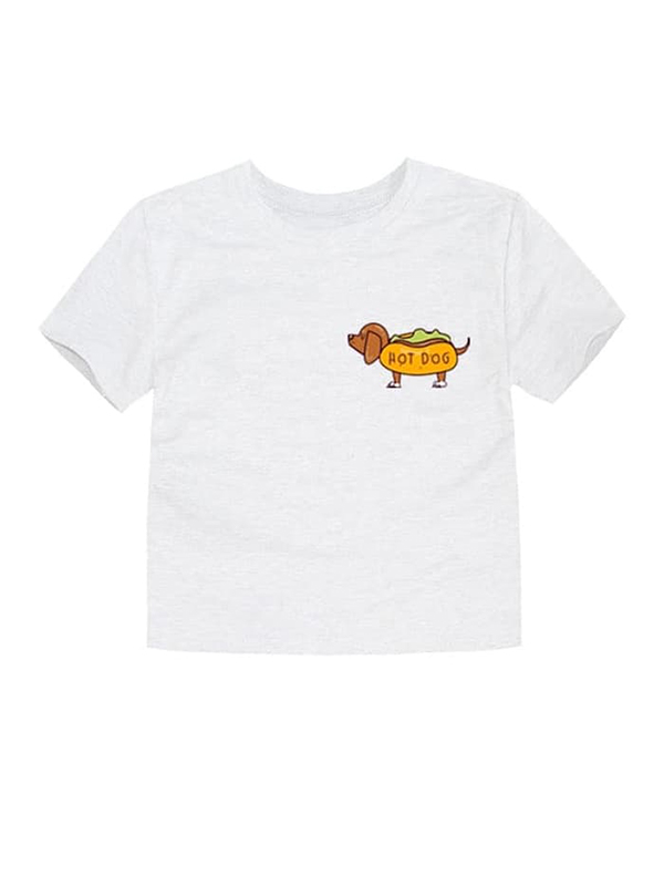 one gallery picture for LITTLE FRESCO T-Shirt Anak Hotdog