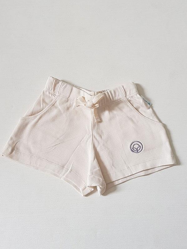 main mobile picture for [COTTONARIES] Shorts Natural White - Celana Pendek Anak