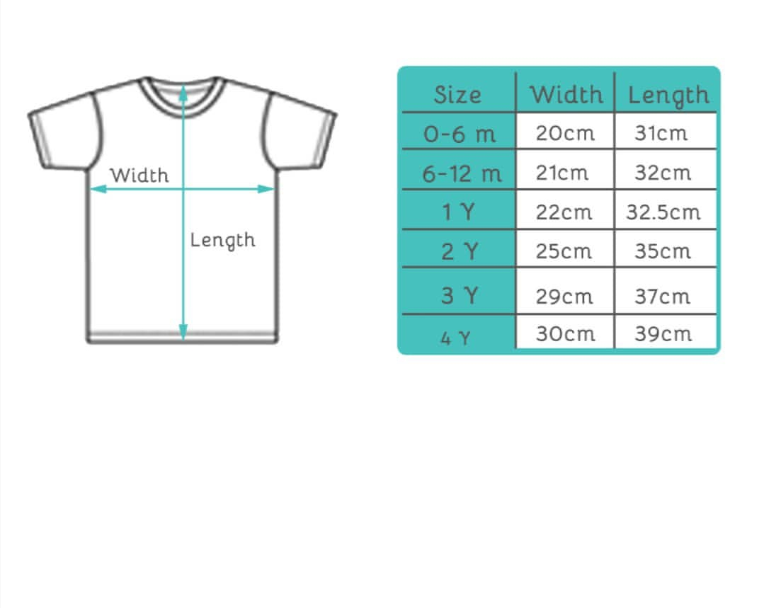 size guide picture