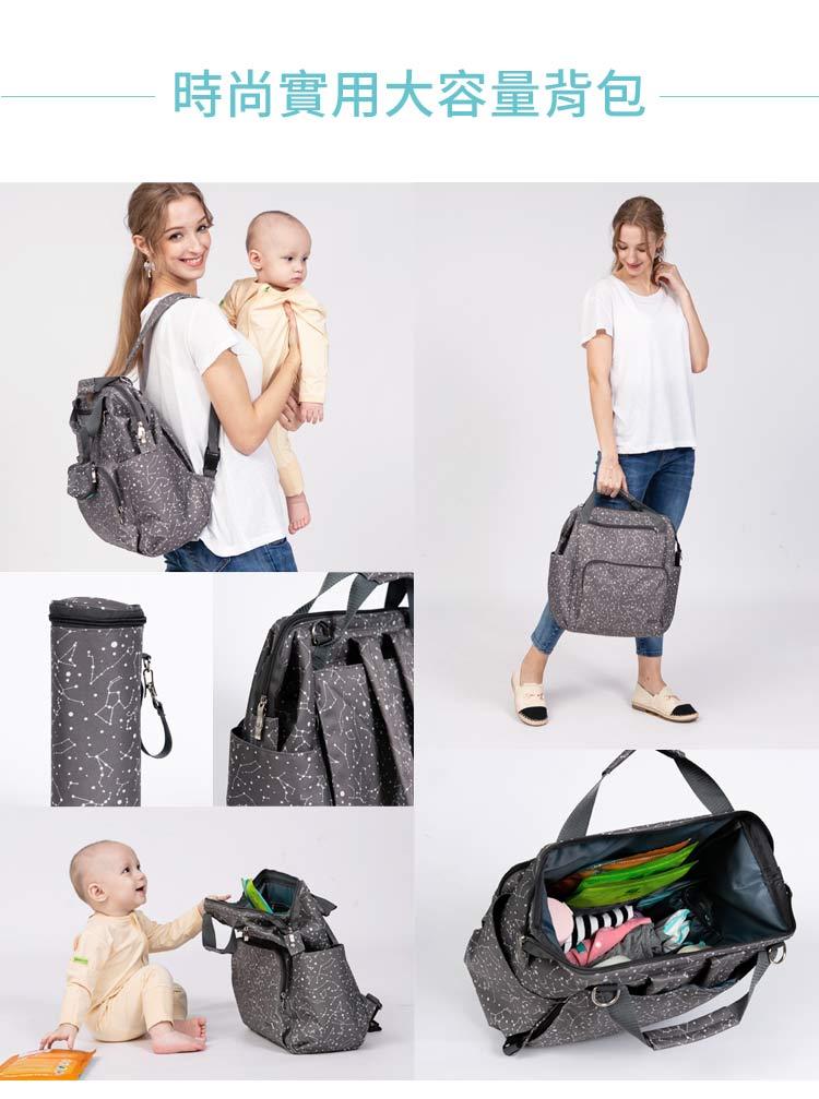 媽媽包,幾何星空媽媽包, 實用大容量背包,幾何星空實用大容量背包,實用大容量背包,超大容量,時尚實用大容量背包