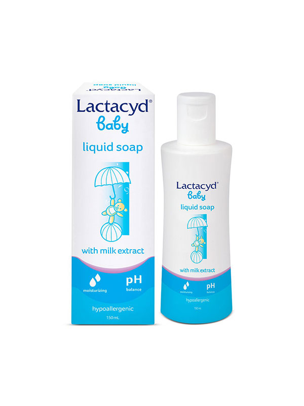 one gallery picture for LACTACYD Baby Cleansing & Moisturizing Sabun Bayi 150 Ml