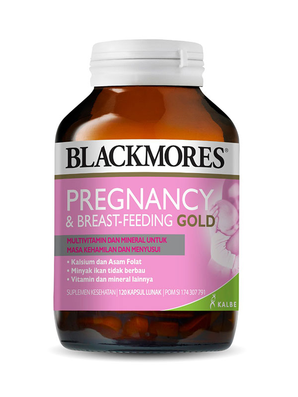 one gallery picture for BLACKMORES Pregnancy & Breast-Feeding Gold isi 120 Caps