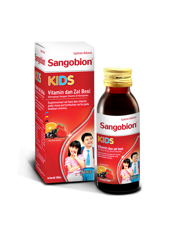 one gallery picture for SANGOBION Kids 100 ml New - Vitamin Anak