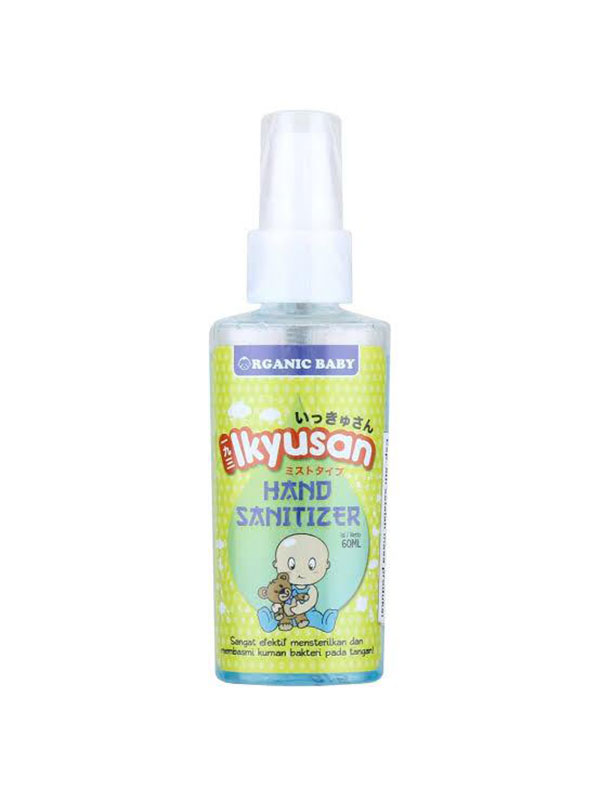 one gallery picture for IKYUSAN Organic Baby Hand Sanitizer 60 ml