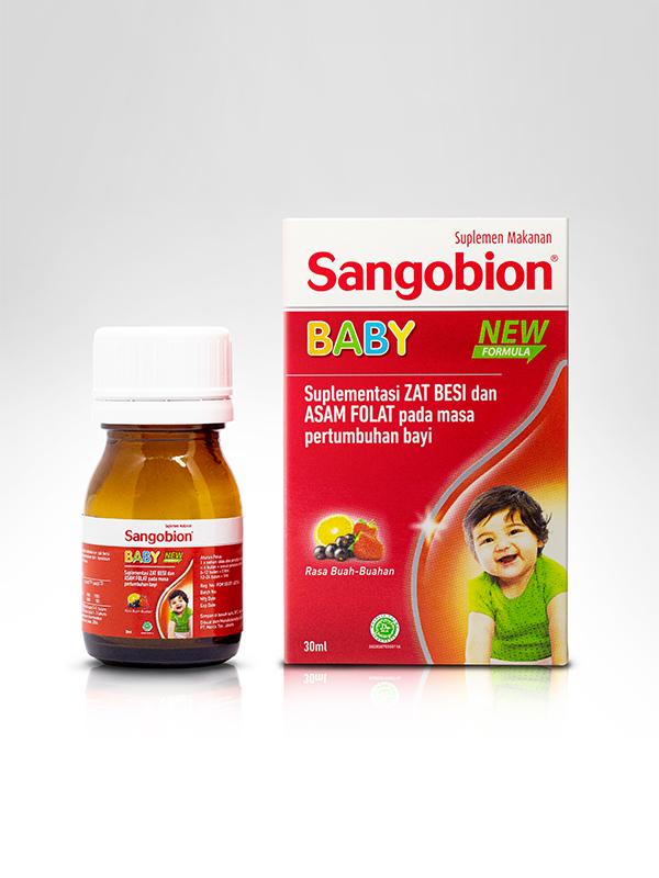 one gallery picture for SANGOBION Baby 30 ml - Suplemen Anak