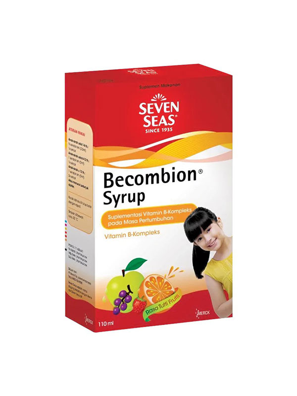 one gallery picture for SEVENSEAS Becombion Syrup 110 ml - Vitamin Anak