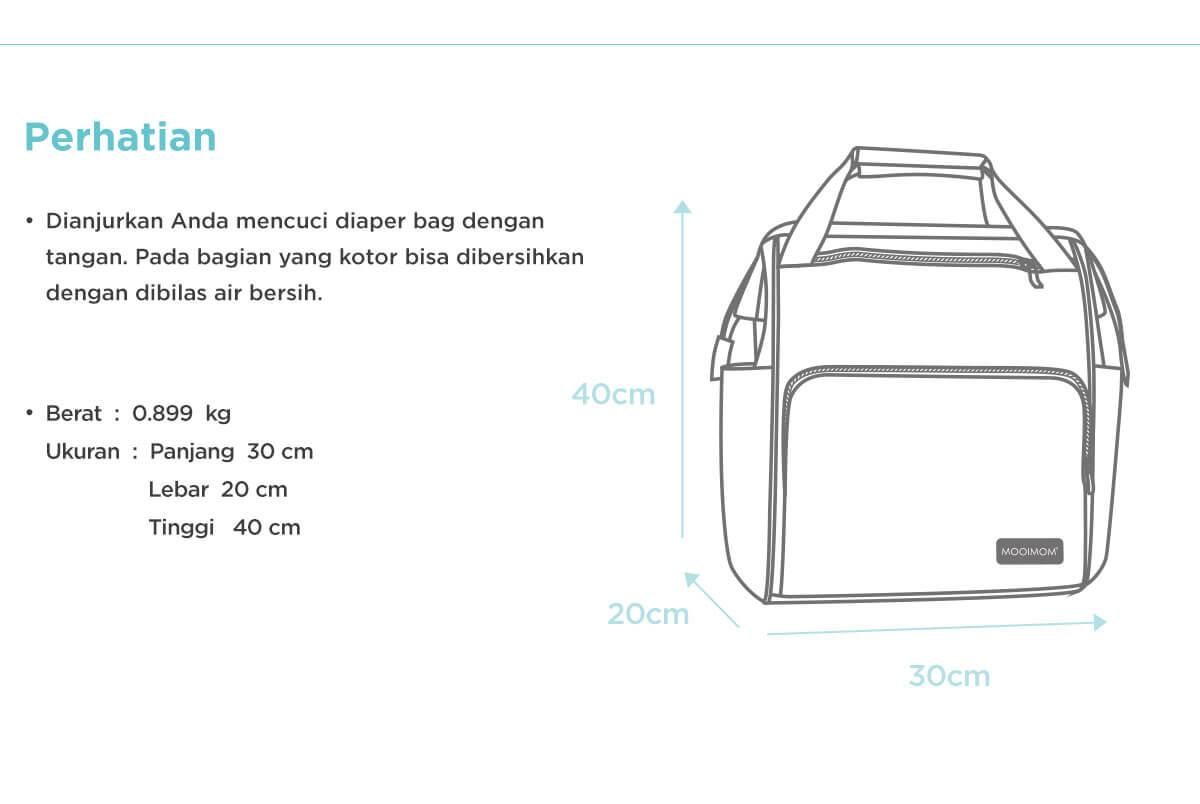petunjuk penggunaan diaper bag