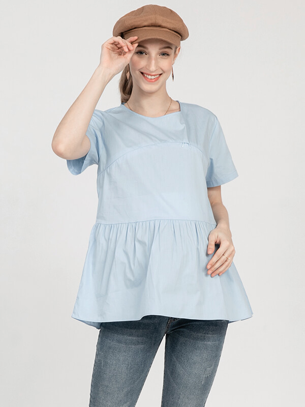 one gallery picture for MOOIMOM Casual Maternity & Nursing Top - Baju Hamil & Menyusui