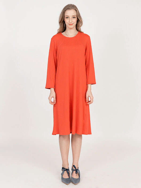 one gallery picture for MOOIMOM Side Zip Maternity & Nursing Dress - Baju Hamil & Menyusui