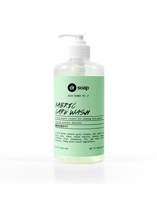 one gallery picture for DR SOAP Fabric Care Wash Iris Green 500ml