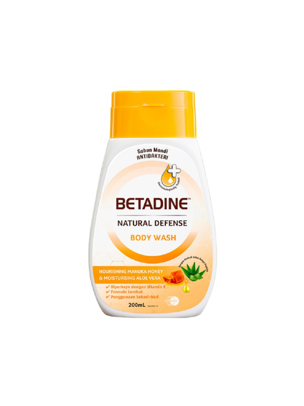 one gallery picture for BETADINE Body Wash Honey 200ml - Sabun Mandi Cair