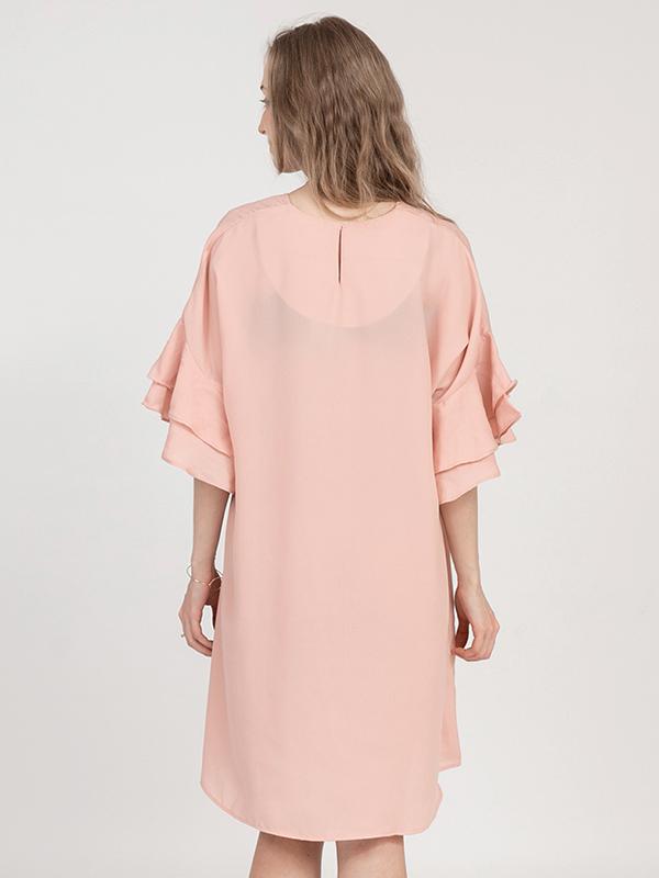 one gallery picture for MOOIMOM Double Flair Sleeve Maternity & Nursing Dress - Baju Hamil & Menyusui