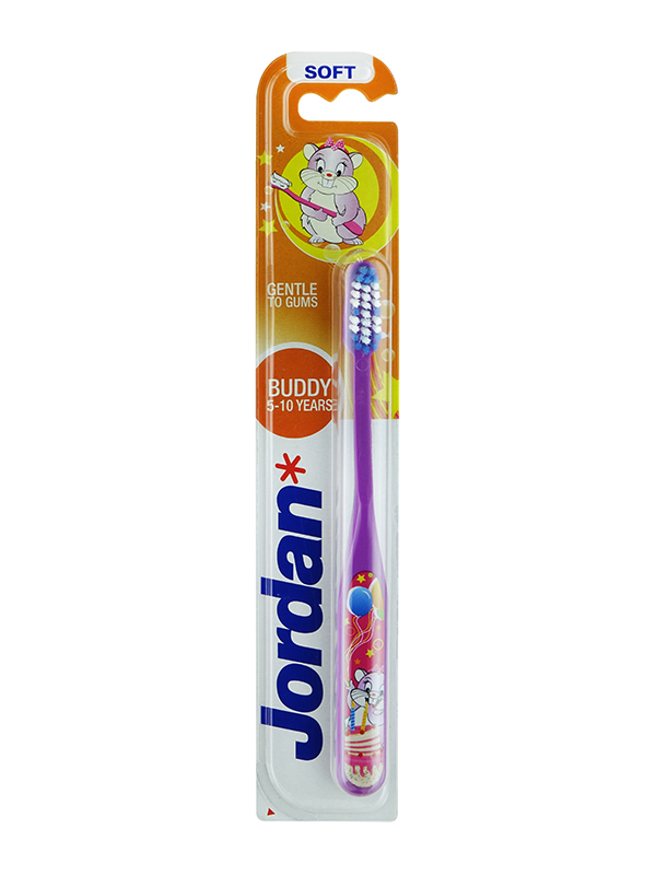one gallery picture for JORDAN Kids BuddyToothbrush 5-10 Year - Sikat Gigi Anak