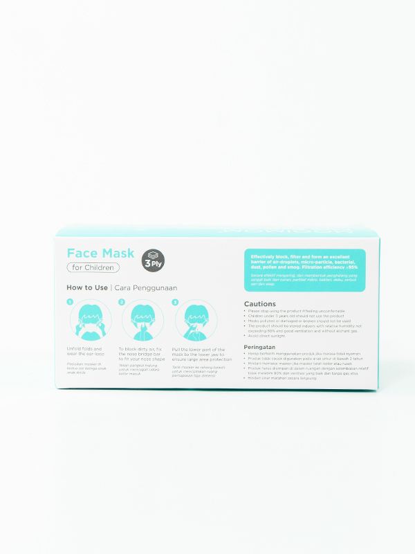 one gallery picture for MOOIMOM Disposable Face Mask 30 Pcs - Masker Anak