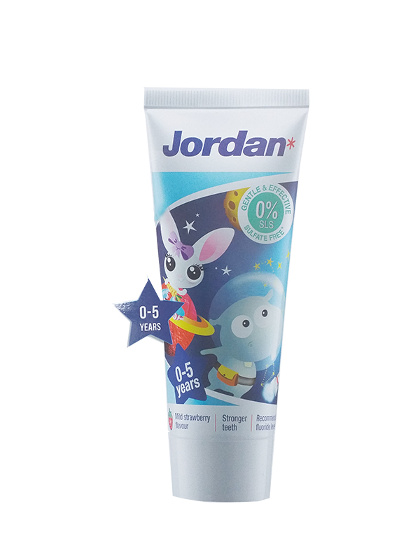 one gallery picture for JORDAN Kids Toothpaste Step1 0-6 Year - Pasta Gigi Anak