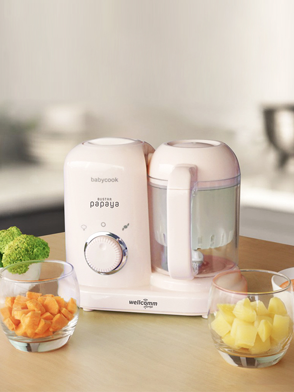 one gallery picture for WELCOMM Bustar Baby Food Maker  4 In 1 Pink
