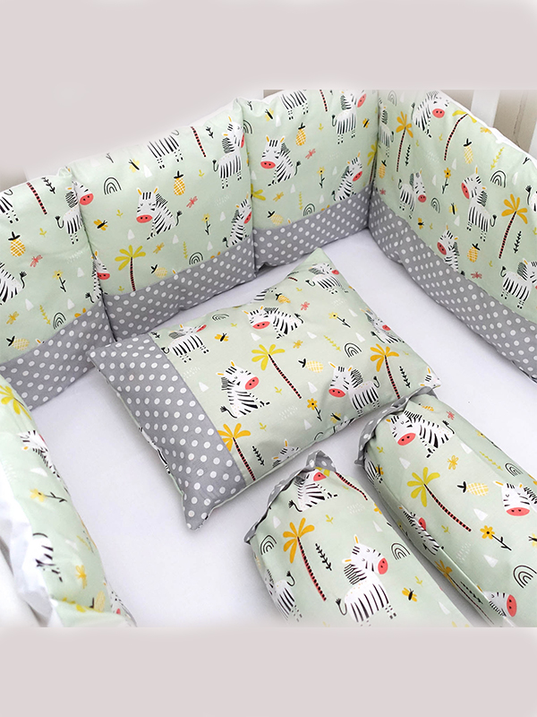 one gallery picture for EQUI Basic Bedding Zebra - Tempat Tidur Bayi Set