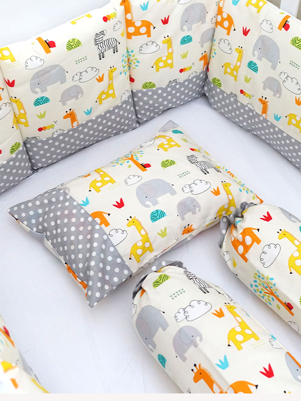 one gallery picture for EQUI Basic Bedding Zoo - Tempat Tidur Bayi Set