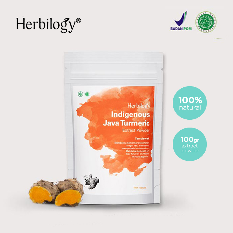 one gallery picture for [HERBILOGY] Java Turmeric Extract Powder Temulawak