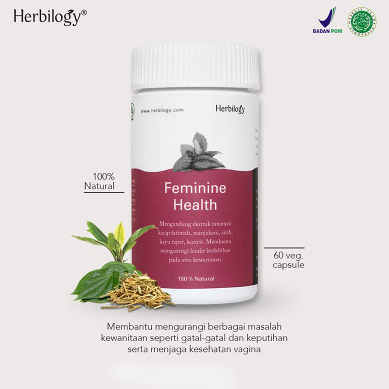 one gallery picture for [HERBILOGY] Feminine Health Capsule 60
