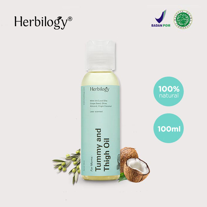 one gallery picture for [HERBILOGY] Tummy & Thigh Oil 100 ml