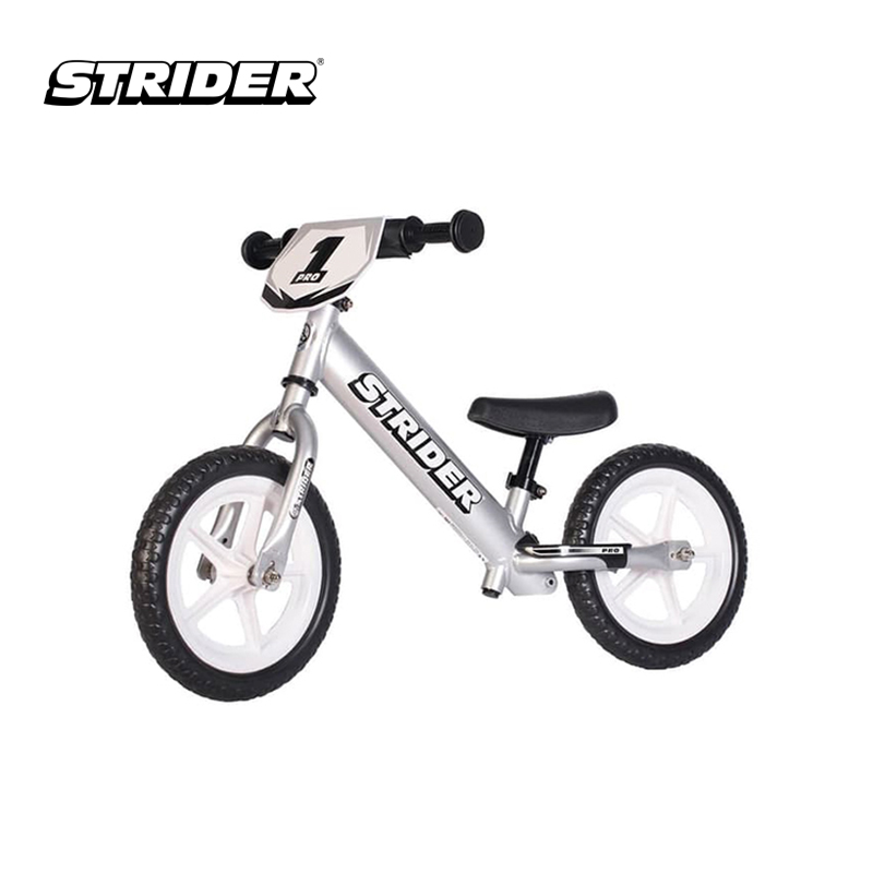 one gallery picture for [STRIDER BIKE] 12 Pro Silver - Sepeda Anak
