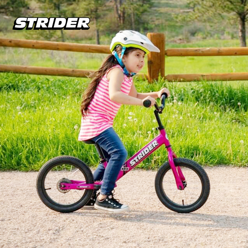 one gallery picture for [STRIDER BIKE] 14X Sport Pink - Sepeda Anak