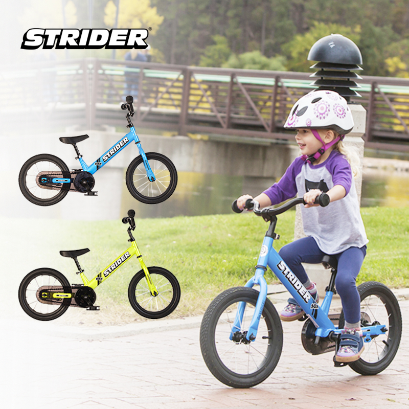 one gallery picture for [STRIDER BIKE] 14X Sport Blue + Pedal Kit - Sepeda Anak