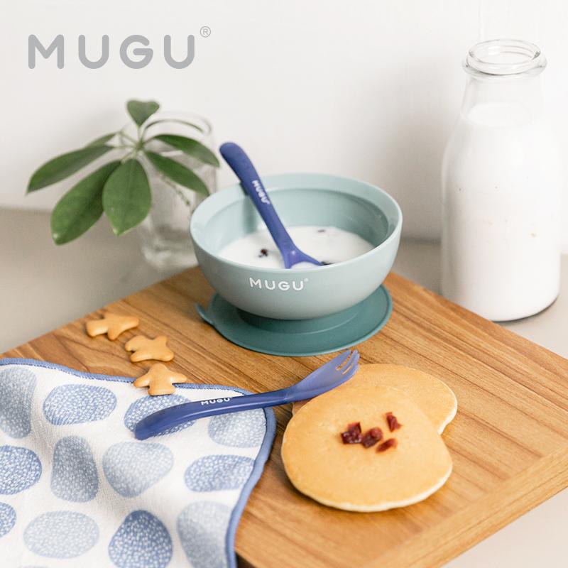 one gallery picture for [MUGU] Sensoric Spoon & Fork - Sendok Garpu Anak