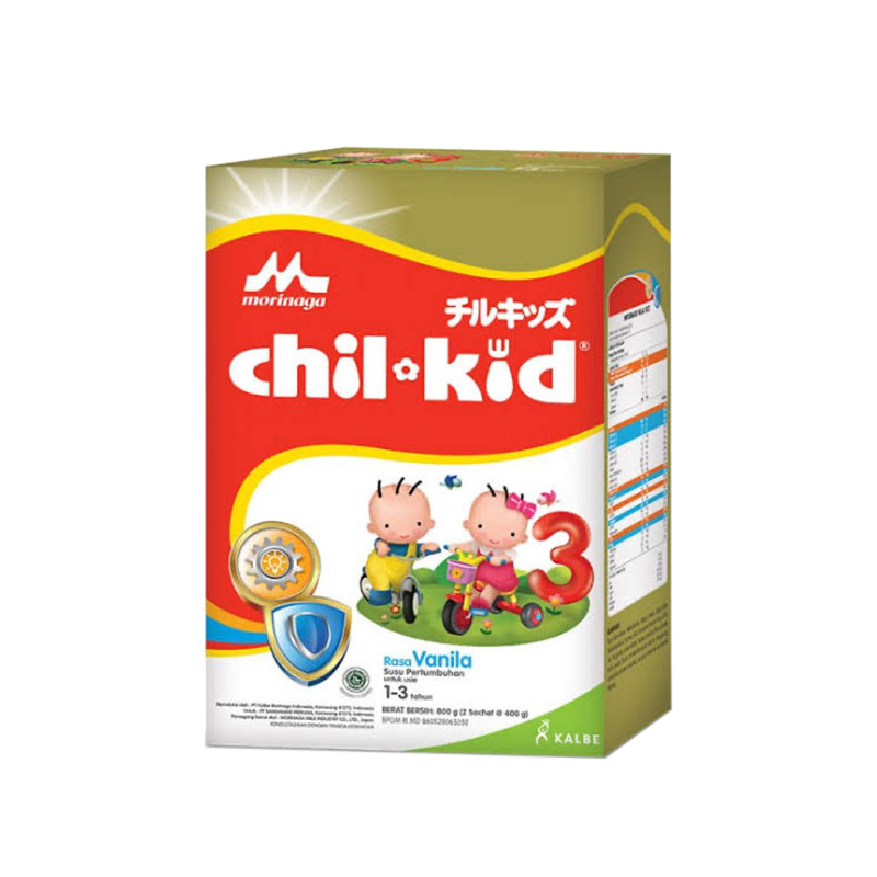 one gallery picture for [MORINAGA] Chil Kid Gold 800gr Vanilla 1-3T