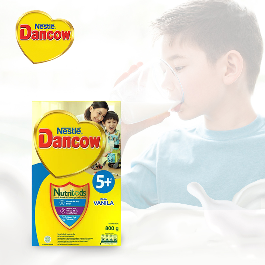 one gallery picture for [DANCOW] 5+ Vanilla 800g
