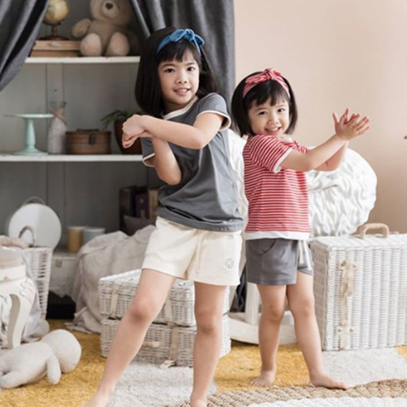 one gallery picture for [COTTONARIES] Shorts Natural White - Celana Pendek Anak
