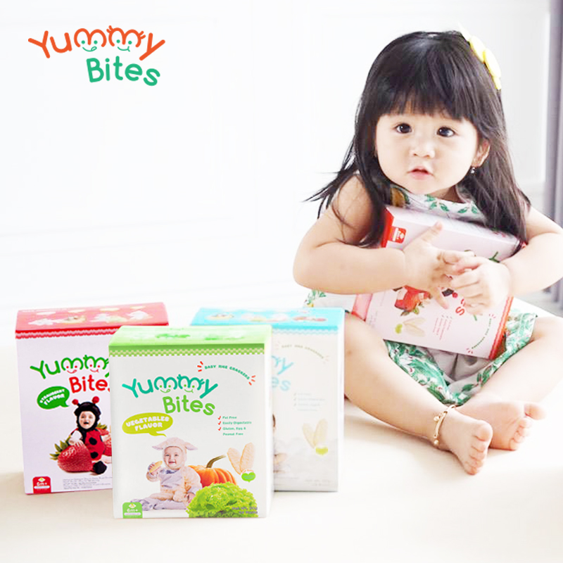 main mobile picture for [YUMMY BITES] Crackers 50gr - Makanan Bayi
