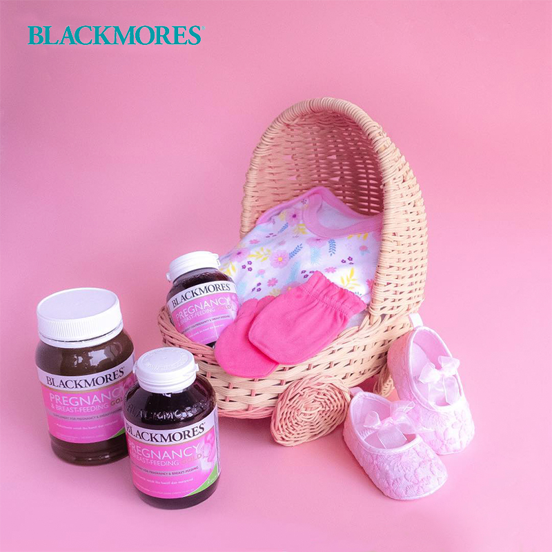 one gallery picture for [BLACKMORES] Pregnancy & Breast-Feeding Gold isi 120 Caps