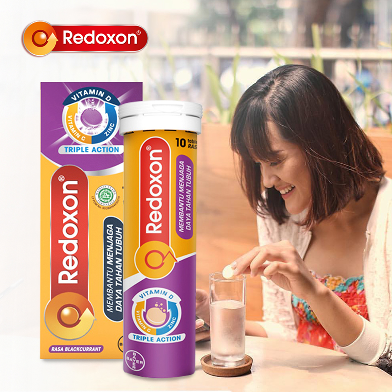 main mobile picture for [NEW REDOXON] EFF Zinc Blackcurrant 10 Tablet