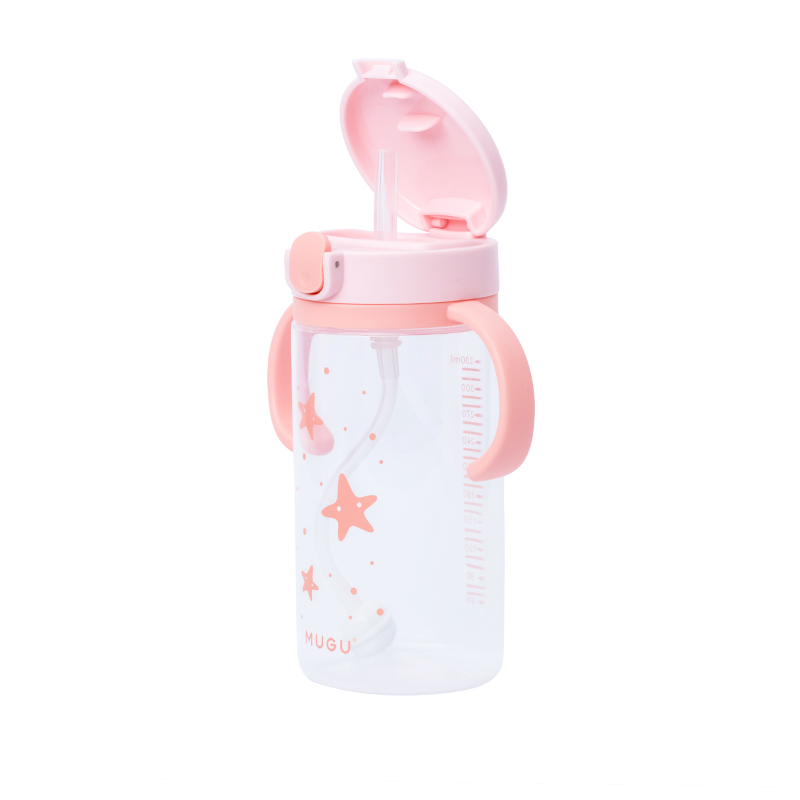one gallery picture for [MUGU] Training Bottle 330ml - Botol Minum Anak