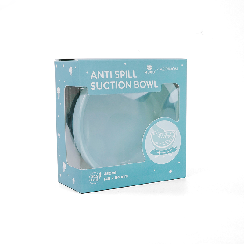 gallery picture of [MUGU] Mangkok Makan Bayi Anak Anti Tumpah | Suction Bowl 450ml