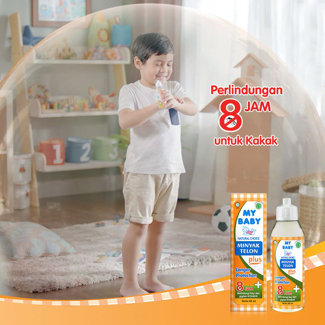 one gallery picture for [MY BABY] Minyak Telon Plus 145 ml