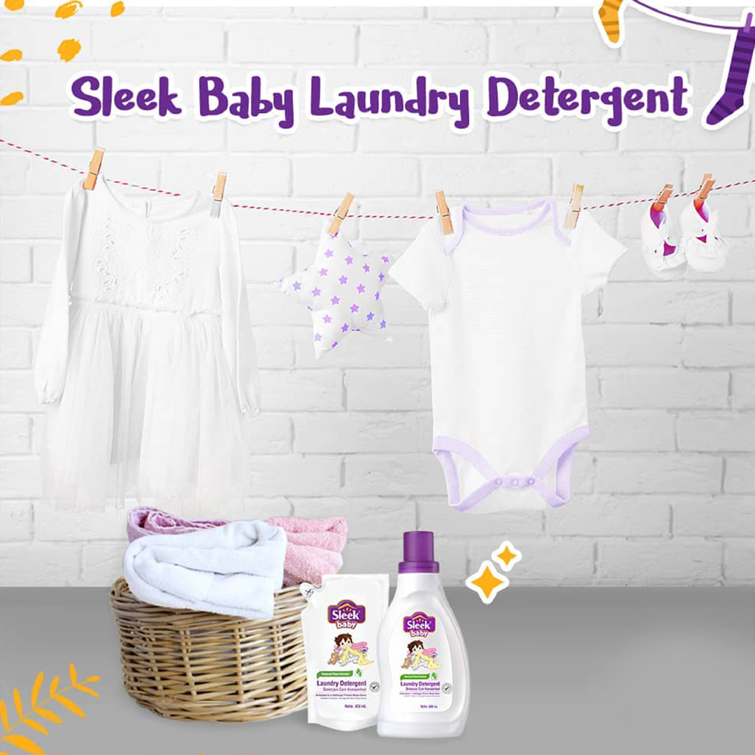one gallery picture for [SLEEK] Baby Laundry Detergent Original 900 ml