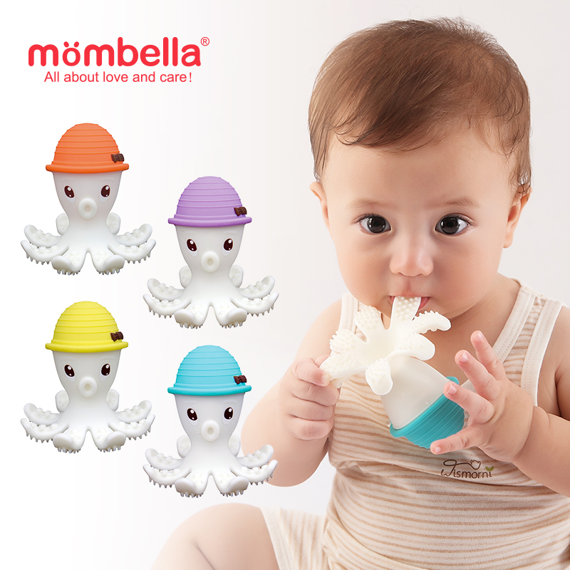 main mobile picture for [MOMBELLA] Octopus Teether Toy Doo Mainan Gigitan Bayi