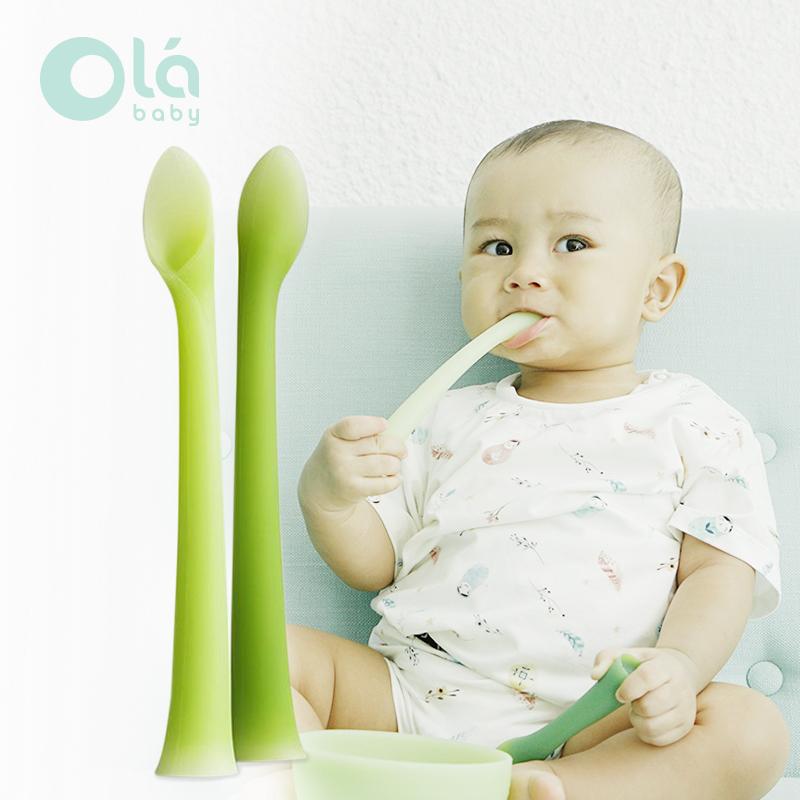 main mobile picture for [OLA BABY] Feeding Spoon Sendok Makan Bayi (2 pcs)