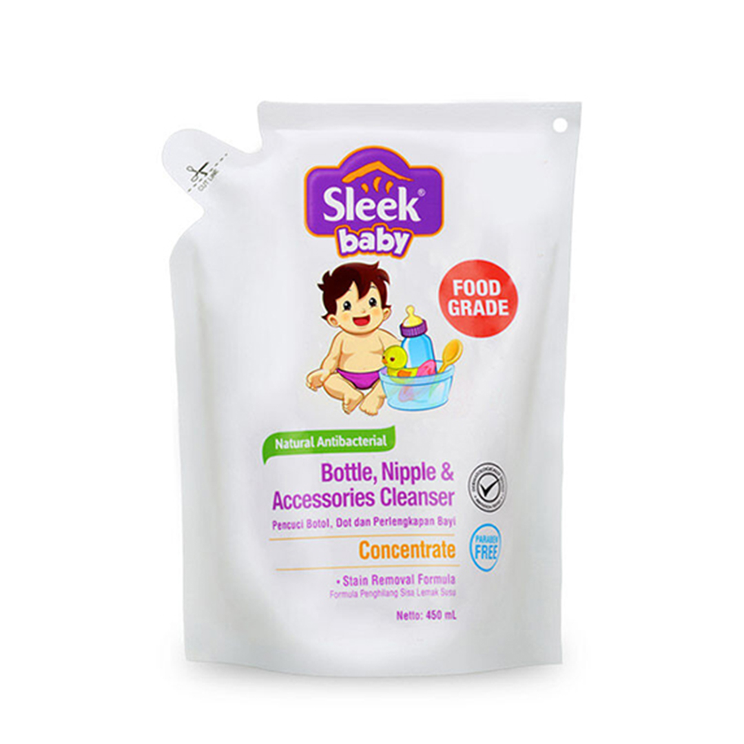 one gallery picture for [SLEEK] Bottle Nipple & Baby Accessories Cleanser 450 ml