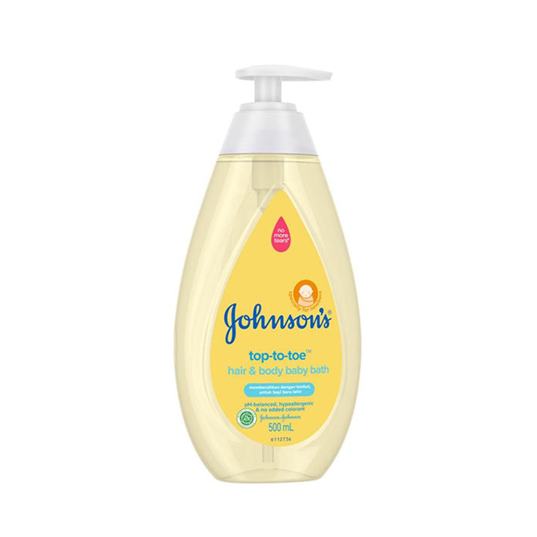 one gallery picture for [JOHNSONS] Top to Toe Hair & Body Bath 500 ml  - Sabun Mandi Anak